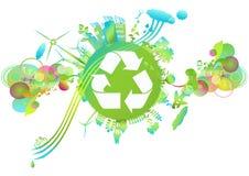 mundo ecológico ilustração stock