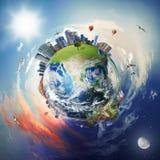 Mundo empresarial Imagem de Stock Royalty Free