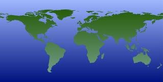 Mundo en gráfico del mundo fotos de archivo libres de regalías
