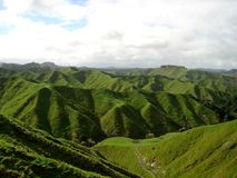 Mundo esquecido, Nova Zelândia Fotografia de Stock Royalty Free