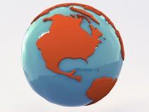 Mundo Estados Unidos Imagem de Stock Royalty Free