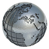 Mundo (Europa África) Imagen de archivo libre de regalías
