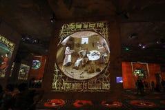 Mundo fantástico e maravilhoso de Bosch, de Brueghel e de Arcimboldo Foto de Stock Royalty Free