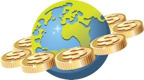 Mundo financiero Imagenes de archivo