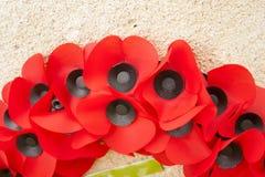 Mundo Flandes de la guerra de la conmemoración del día de la amapola un gran Foto de archivo libre de regalías