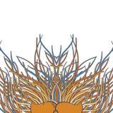 Mundo floral del verano libre illustration