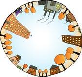 Mundo interno stock de ilustración