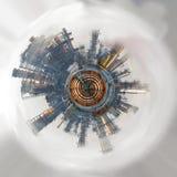 Mundo inustrializado abstracto Imagen del color Imágenes de archivo libres de regalías