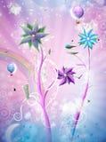 Mundo mágico ilustração royalty free