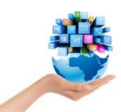 Mundo moderno disponível Imagens de Stock