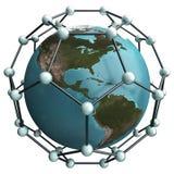 Mundo Nano Imagens de Stock Royalty Free