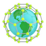 Mundo Nano Imagens de Stock