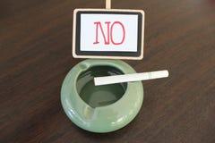 Mundo nenhum dia do tabaco! Fotografia de Stock
