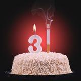 Mundo nenhum dia do tabaco Imagem de Stock Royalty Free
