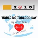 Mundo ningún día 4 del tabaco Fotos de archivo