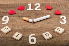 Mundo ningún día del tabaco Fotos de archivo