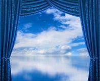 Mundo novo brilhante bem-vindo Foto de Stock