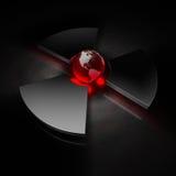 Mundo nuclear - América Imagem de Stock