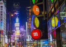 Mundo Nueva York de M&M Foto de archivo libre de regalías