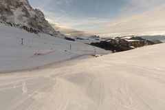 Mundo Ski Men Ita Downhill Race fotos de archivo libres de regalías