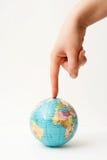 Mundo sob a pressão. Imagens de Stock