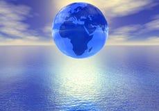Mundo sobre el mar Fotografía de archivo