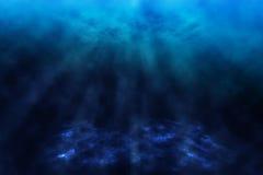 Mundo subaquático. ilustração royalty free
