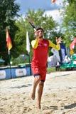 Mundo Team Championship 2015 del tenis de la playa Imagenes de archivo