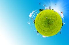 Mundo verde Foto de archivo libre de regalías