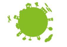 Mundo verde Foto de archivo