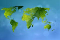 Mundo verde Foto de Stock