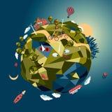 Mundo verde Fotos de archivo libres de regalías
