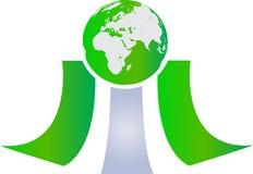 Mundo verde Imagem de Stock Royalty Free