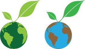 Mundo verde Fotografía de archivo libre de regalías