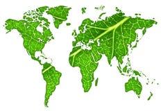 Mundo verde Fotografía de archivo