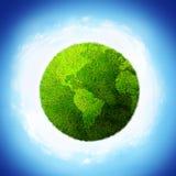 Mundo verde Foto de Stock Royalty Free