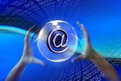 Mundo WWW do Internet Imagens de Stock Royalty Free