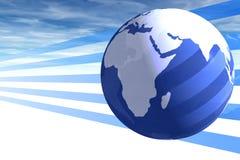 Mundo y cielo Imagen de archivo libre de regalías