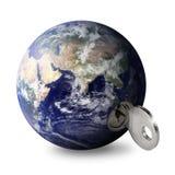 Mundo y clave de la zona este Foto de archivo