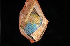 Mundo y dinero Imagen de archivo libre de regalías