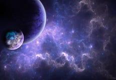 Mundos en el cielo Fotografía de archivo libre de regalías