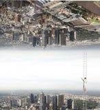 Mundos paralelos foto de archivo
