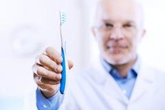 Mundpflege und Verhinderung Lizenzfreies Stockfoto