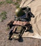 Munduruje żołnierza Obrazy Royalty Free