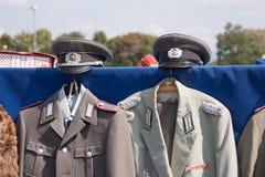 Mundury - Niemiecka Demokratyczna republika GDR zdjęcia stock