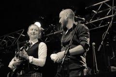 Mundy med musikbandet för Clewfjärdrör (2) Royaltyfri Bild