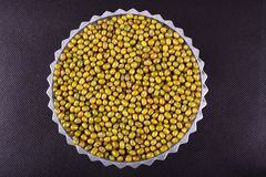 Mung bean background Royalty Free Stock Photography