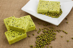 Mung bean cake Royalty Free Stock Photo