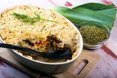 Mung Bean Casserole Fotografia Stock Libera da Diritti