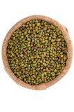 Mung bean isolated Royalty Free Stock Photography